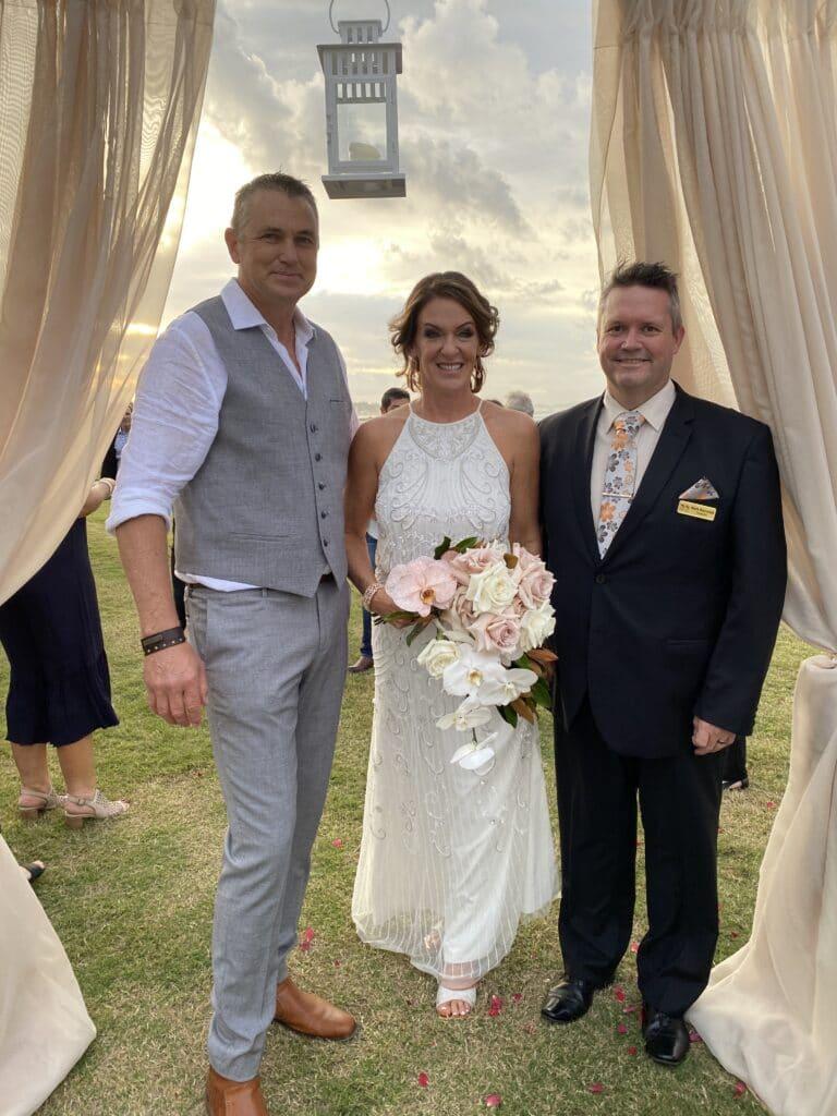Wedding Ceremony Coolangatta Gold Coast by Mark Reynolds marriage celebrant