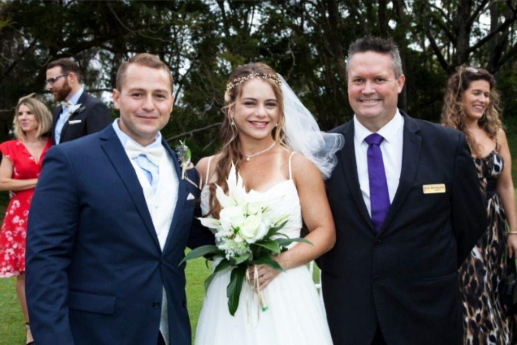 A Gold Coast Wedding Ceremony by Mark Reynolds Marriage Ceremony